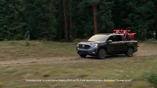 homepage tile video photo for 2021 Honda Ridgeline: Cargo and Engineering