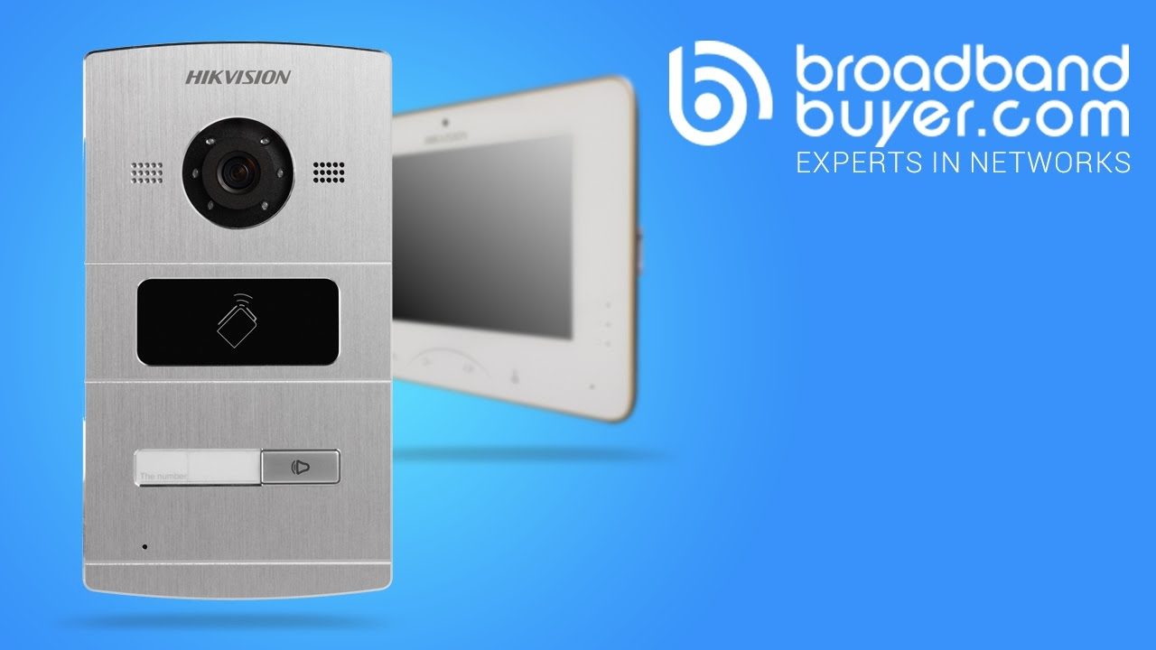 Introducing The Hikvision Smart Door Intercom System Youtube