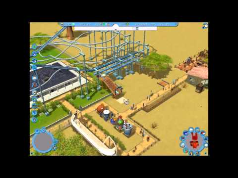 Rollercoaster Tycoon 3, Wild!, Career Mode, Scenario 2; Ostrich Farm Plains