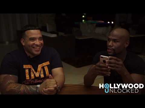 Interview with Floyd Mayweather 36 Hours Before His Fight