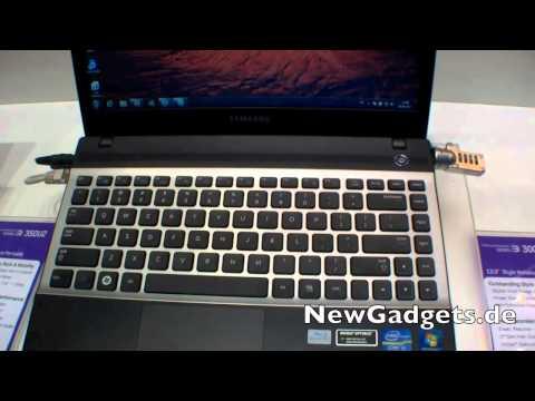 Hands On mit dem Samsung 300V3 Subnotebook auf der IFA