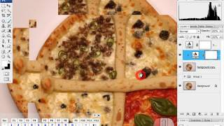 [포토샵혁명방송]화이트 발란스 정확히 맞추는 기준 찾기와 생기있는 음식 사진 보정