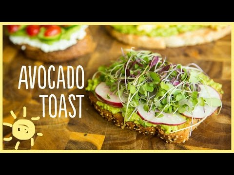EAT | Avocado Toast 3 Ways