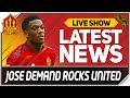 Mourinho Ultimatum Rocks Man Utd Man Utd News Now