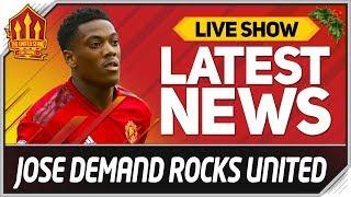 MOURINHO Ultimatum Rocks Man Utd! Man Utd News Now