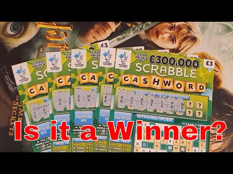 Winning Video From National Lottery Sratch Cards By NL Dreams (014)