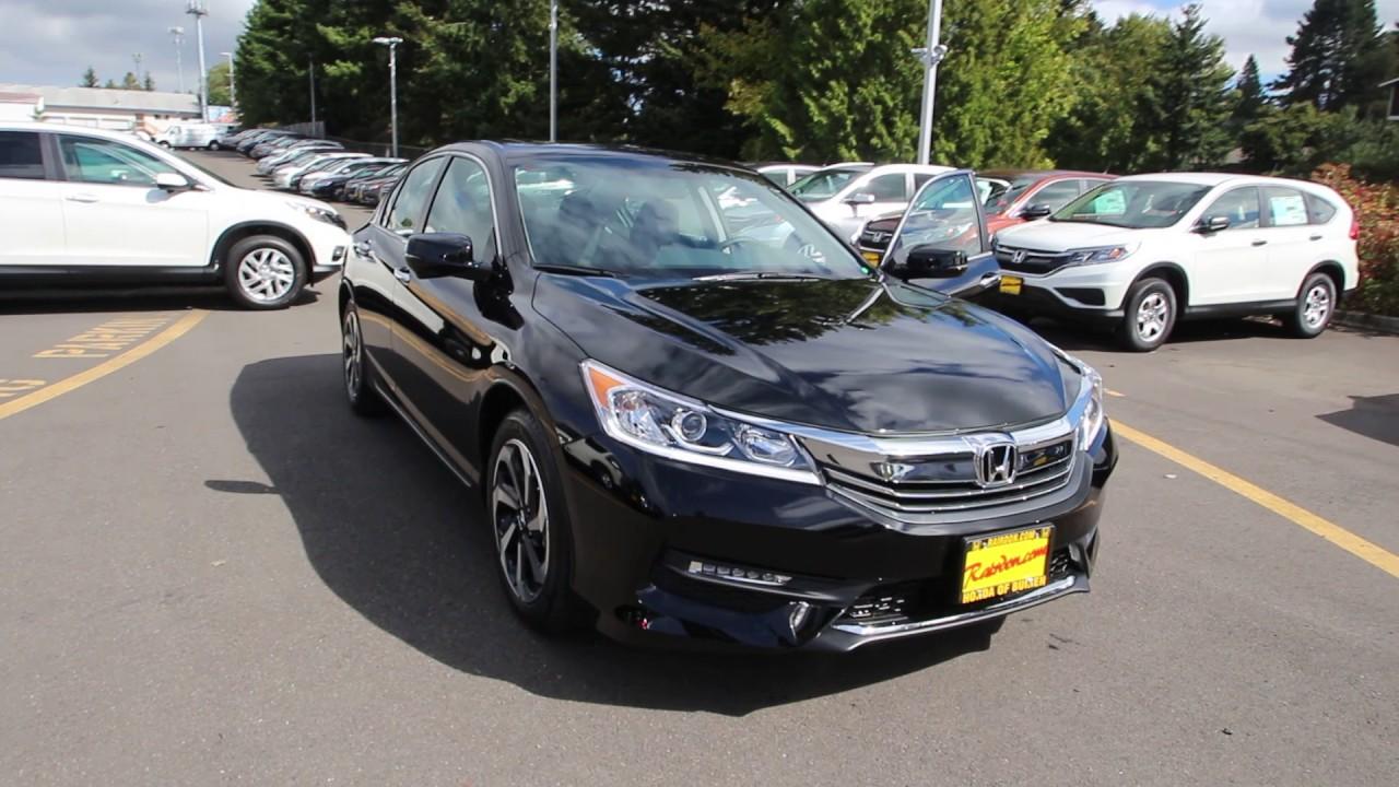 2016 honda accord crystal black ga004248 seattle for Honda accord 2016 black