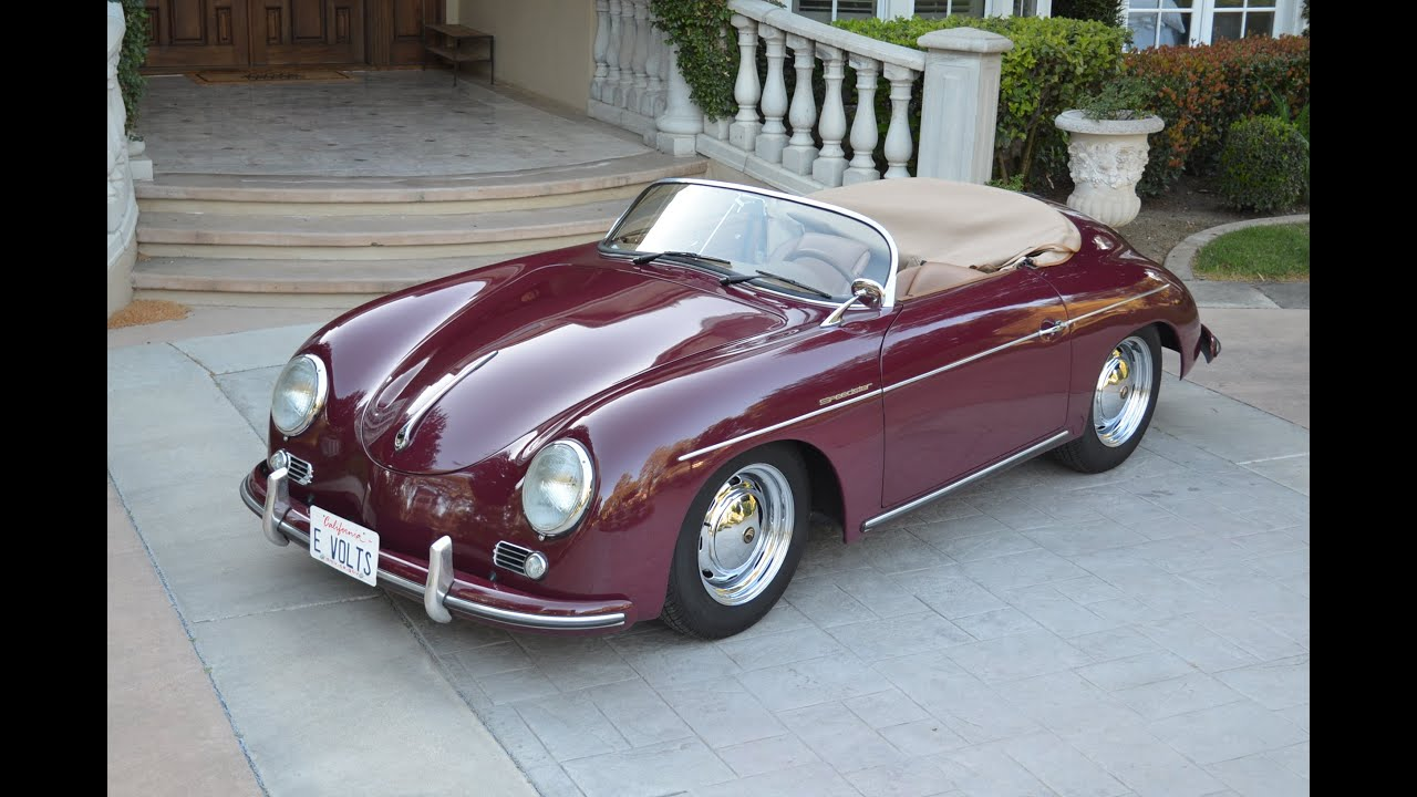 1957 Porsche Beck Speedster 2k Miles Electric Conversion