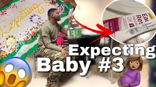 RAW REACTION: Telling My Husband I'm Pregnant with Baby Number 3