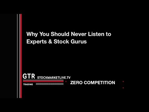 Free Investor Education Never Listen to Experts and Stock Gurus