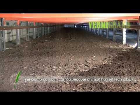 The advanced vermicomposting facility VERMIC 3 2 - worm composting