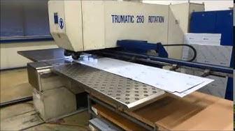 CNC Stanz Nibbelmaschine TRUMPF Lagernummer 55443 2