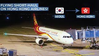 Tripreport   Hong Kong Airlines  Economy    Airbus A320   Seoul Incheon - Hong Kong