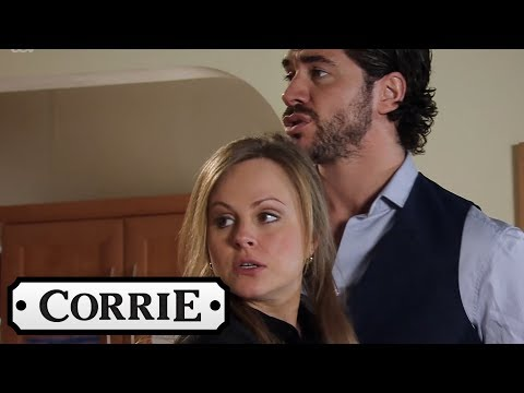Coronation Street - Sarah and Adam Kiss...and Nearly Get Caught!