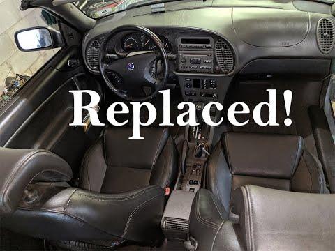 Saab 9-3 Dash Panel & Temp Sensor Code P0116 Repair - Part 4