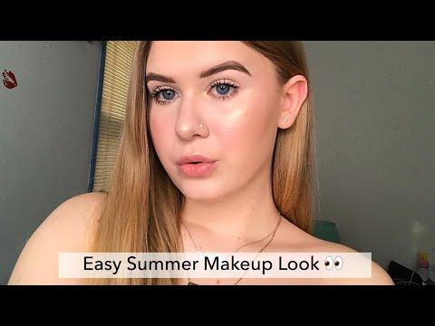 Summer natural makeup tutorial #mua #summer #glowy thumbnail