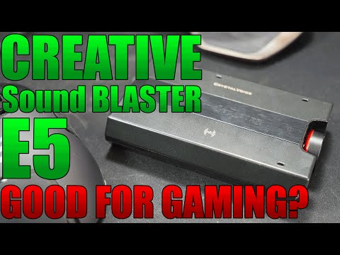 Creative Sound Blaster E5 Review | Is it Good for Gaming? | Is it an ASTRO KILLER?