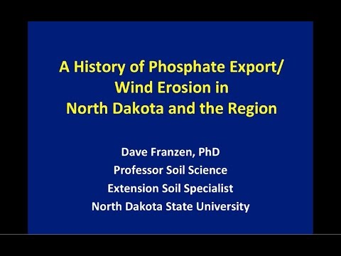 The History of Soil Erosion in North Dakota