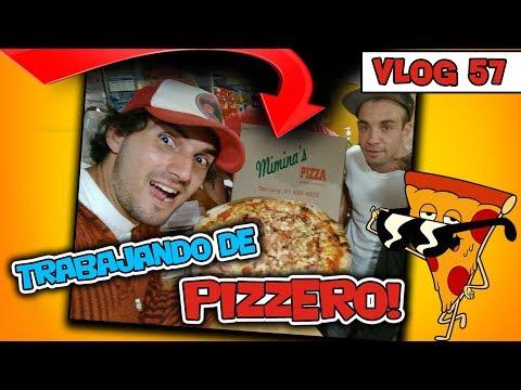 TRABAJANDO de PIZZERO!! - Vlog#57 [JohannTV]