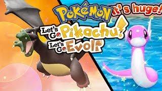 ENDLICH Shiny Glurak! Shiny Dratini hunt 😍 Let's Go Pikachu & Pokémon Let's Go Evoli