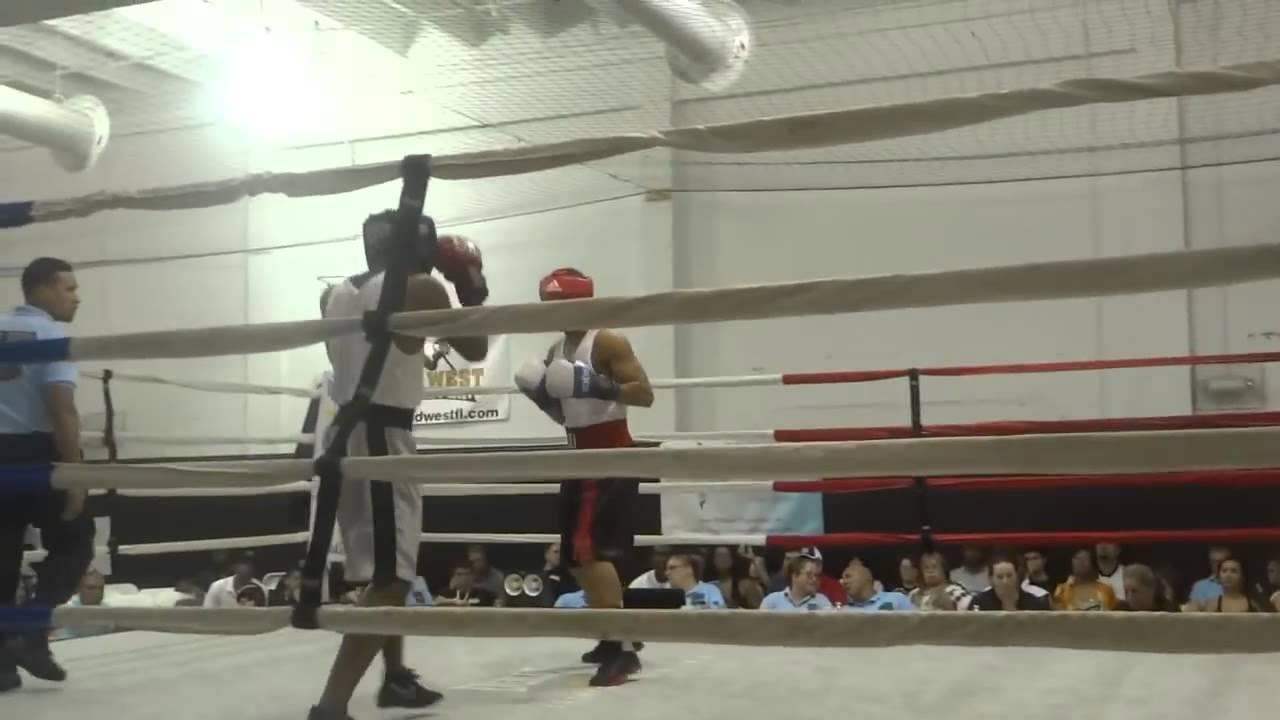 Amateur boxing golden