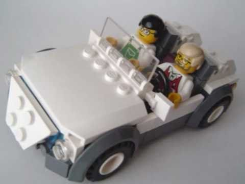 How To Make Lego Two Seater Car