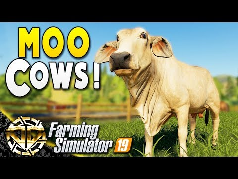 STARTING A COW FARM : MILK MILLIONS : Farming Simulator 19 Gameplay : Ravenport EP 14