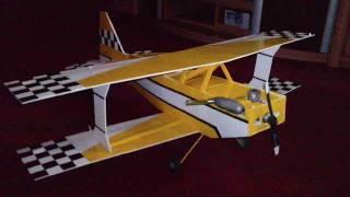 Como hacer un Avion RC ULTIMATE-Poliprop...