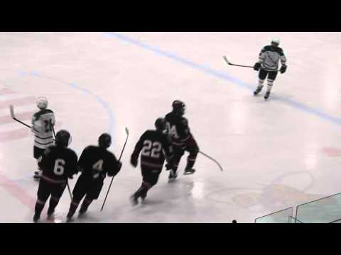 Liam Whitman scores for Westfield hockey in WMass D3 final