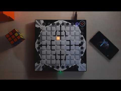 TUTORIAL Skrillex - Ragga Bomb (Skrillex & Zomboy Remix) Launchpad Pro cover