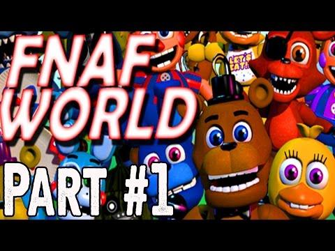 FNAF World Walkthrough Part 1 - FNAF World Gameplay