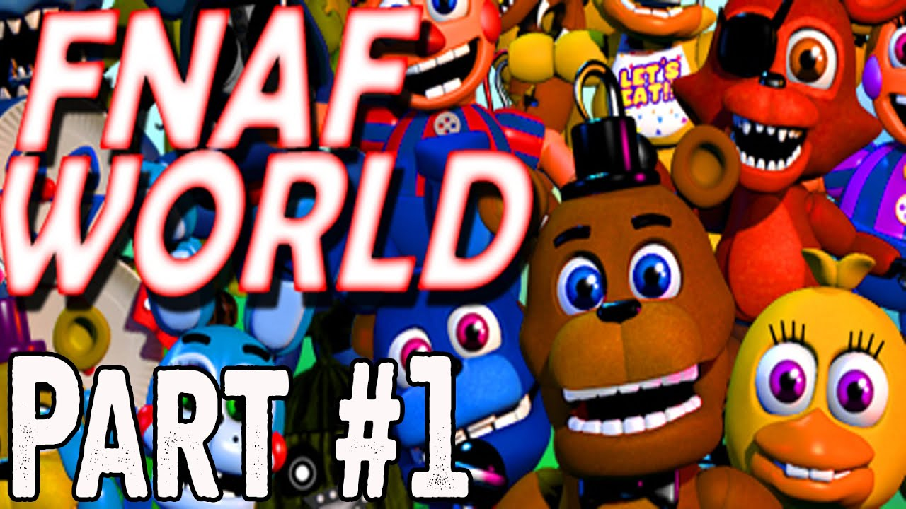 how to get fnaf world