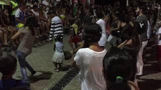 la espeluca champeta en paseo peatonal de isla de san andres colombia