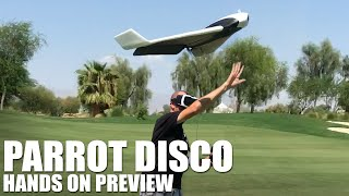 Parrot Disco - Hands On Preview | Flite Test