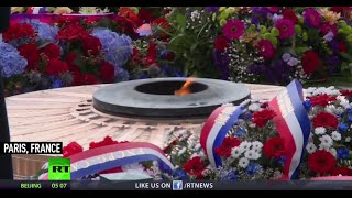 World marks 70th anniversary of defeat of Nazi Germany in WW2