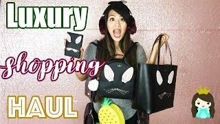 Fall shopping Haul | Huge Luxury Shopping Review: Kate Spade + Michael Kors Gift Ideas