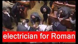 In Romania a man attempts suicide in parliament Romania - 23 december 2010