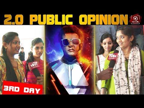 Girls Opinion At 2.0   Rajinikanth   Akshaykumar   Shankar   2.0