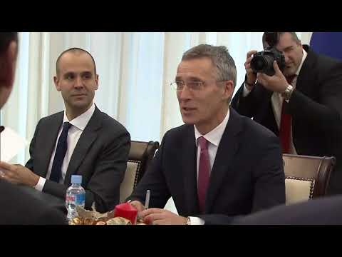 NATO Secretary General Bilateral Meeting with President of the Republic of Macedonia