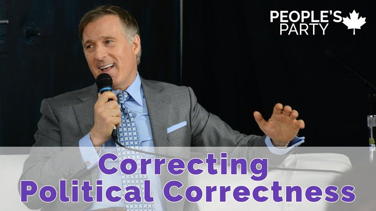 Correcting Political Correctness - Maxime Bernier