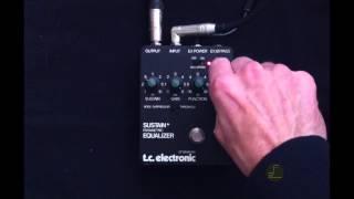 tc electronic sustainer + parametric equalizer - vintage screenshot 5