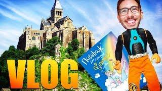 Dédicaces + Mont St Michel + Jhon Rachid ( VLOG ) - NATOO