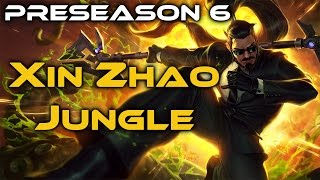 League of Legends - Xin Zhao Jungle - Full Game Commentary