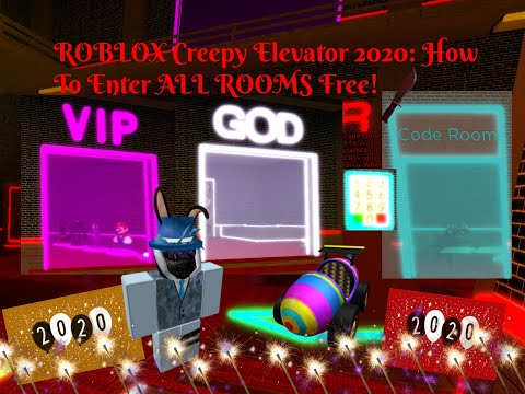 [PATCHED ;-;] ROBLOX Creepy Elevator 2020: How To Break Into ALL Rooms For FREE!