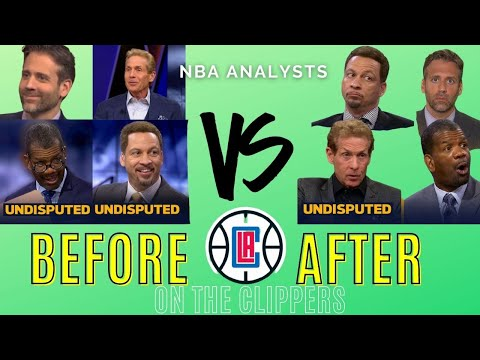 Media before vs after the Clippers lost (Extended Version)