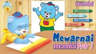 Mari Menggambar - Mewarnai Gambar Mombi, Yuk! - Mewarnai untuk Anak TK