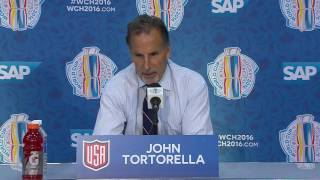 Tortorella: We let some people down, didn't do enough offensively