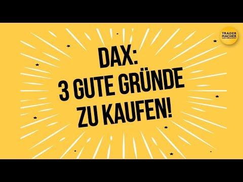 DAX: 3 Gründe, jetzt zu kaufen!