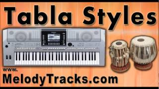 Tabla Styles YAMAHA Keyboards Mix Songs Set A - indian Kit