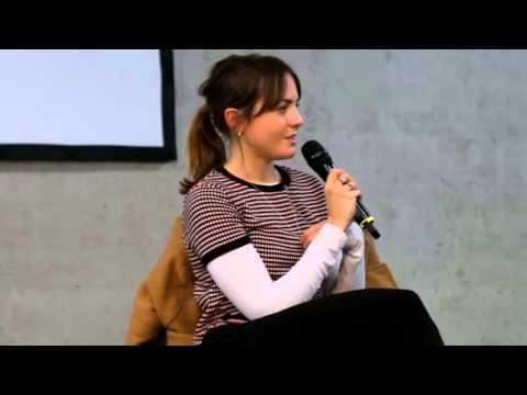 Catrin Stewart talks about Peter Capaldi and Matt Smith